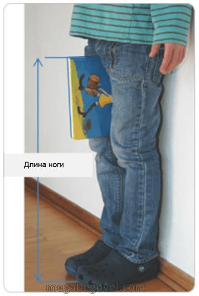Измерить длину ног, картинка, фотография